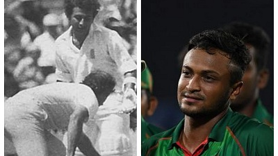 Former India cricketers compare Shakib's incident with Gavaskar's MCG 1981 outburst