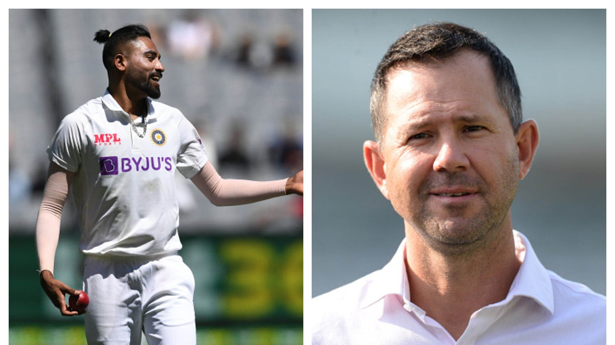 AUS v IND 2020-21: WATCH - Ricky Ponting praises Mohammed Siraj after