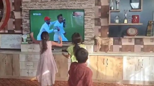WATCH – Kids dance as Afghanistan registers historic win over Bangladesh in Chattogram