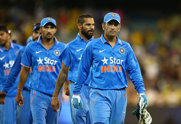 MS Dhoni leading Indian side back in 2016 | GETTY