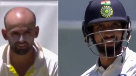 AUS v IND 2018-19: WATCH- Nathan Lyon funnily turns into an umpire for Ishant Sharma