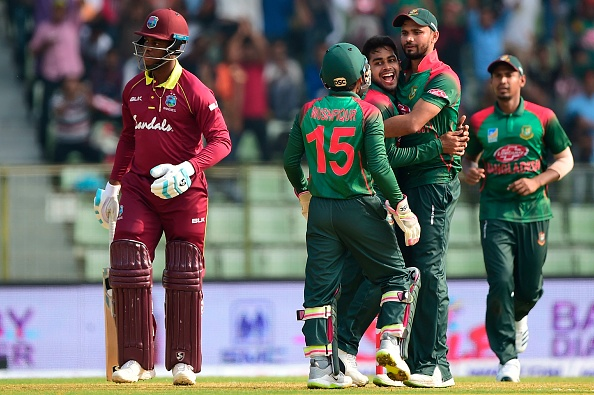 Bangladesh won ODI series after Test against West Indies at home | Getty Images