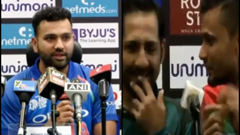 Asia CUP 2018: WATCH- Rohit, Mashrafe, and Sarfraz talking about 'controversy boy' of Bangladesh