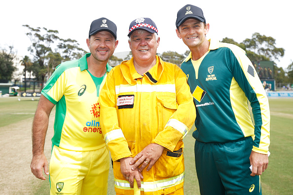 Ponting XI defeated Gilchrist XI by one run   Getty
