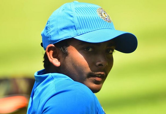 Prithvi Shaw ready to grab his chances in the Indian Cricket team