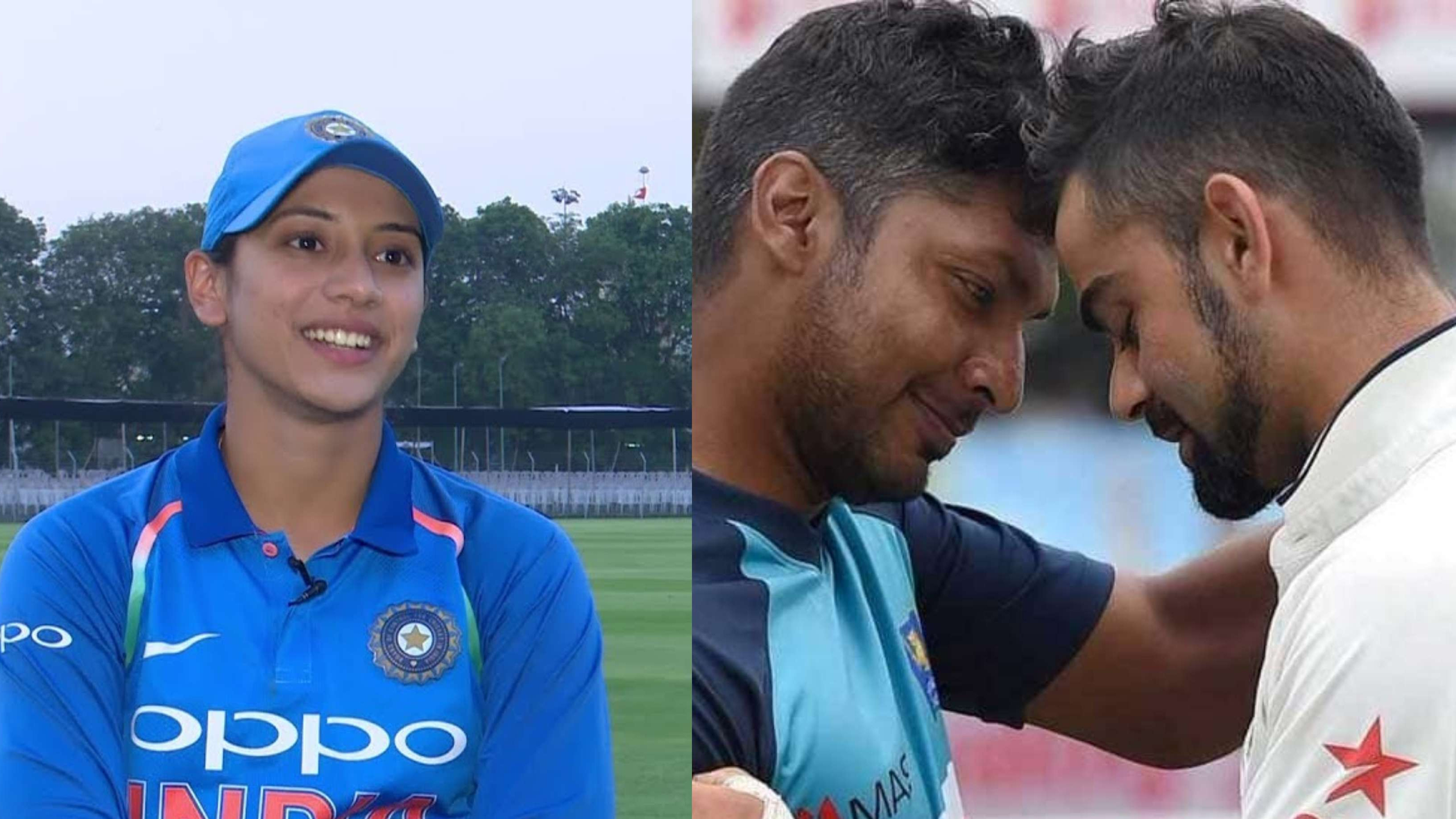 Smriti Mandhana names her cricket idol