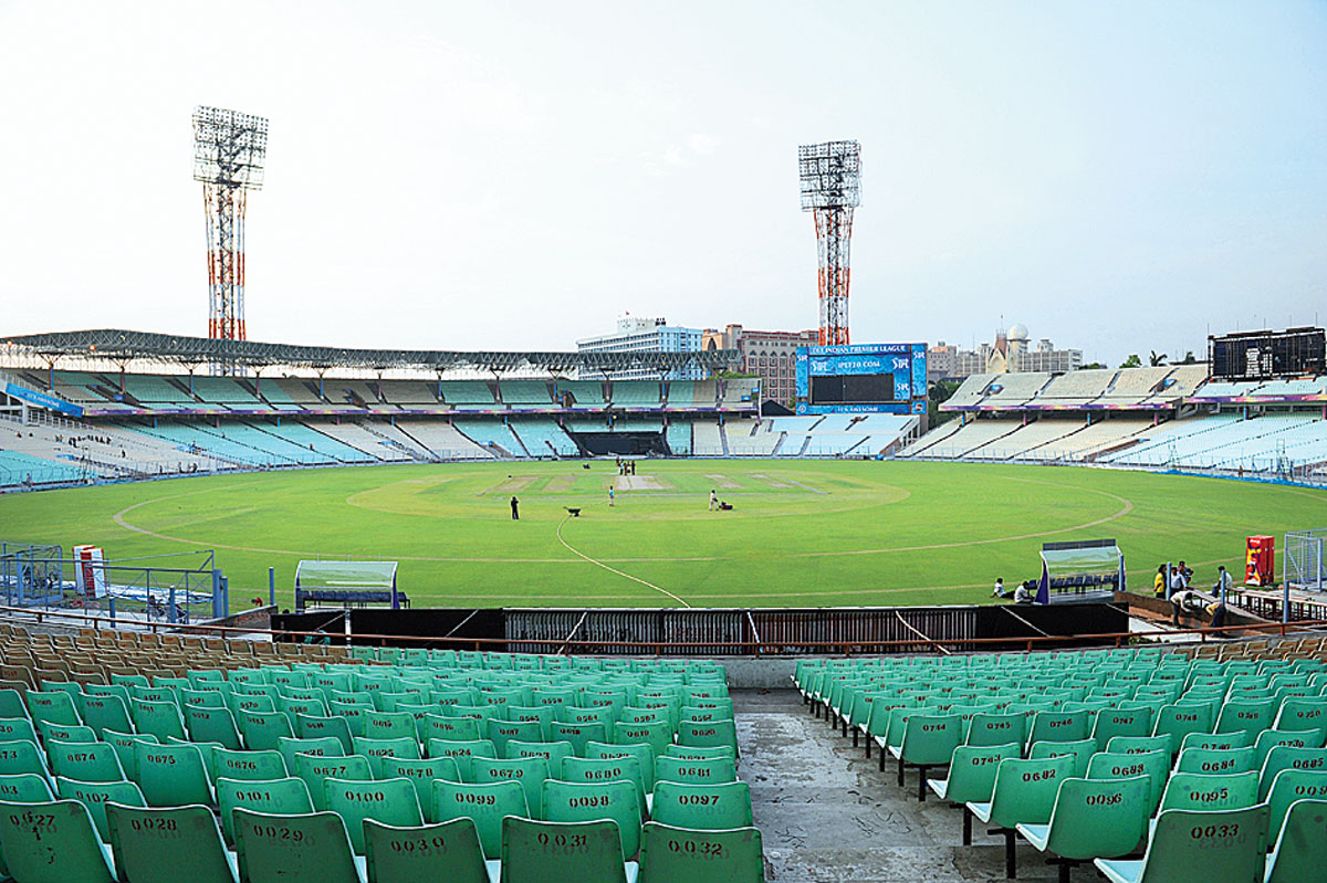 Eden Gardens' galleries of E, F, G and H blocks would be used as a quarantining facility for cops | Telegraph India