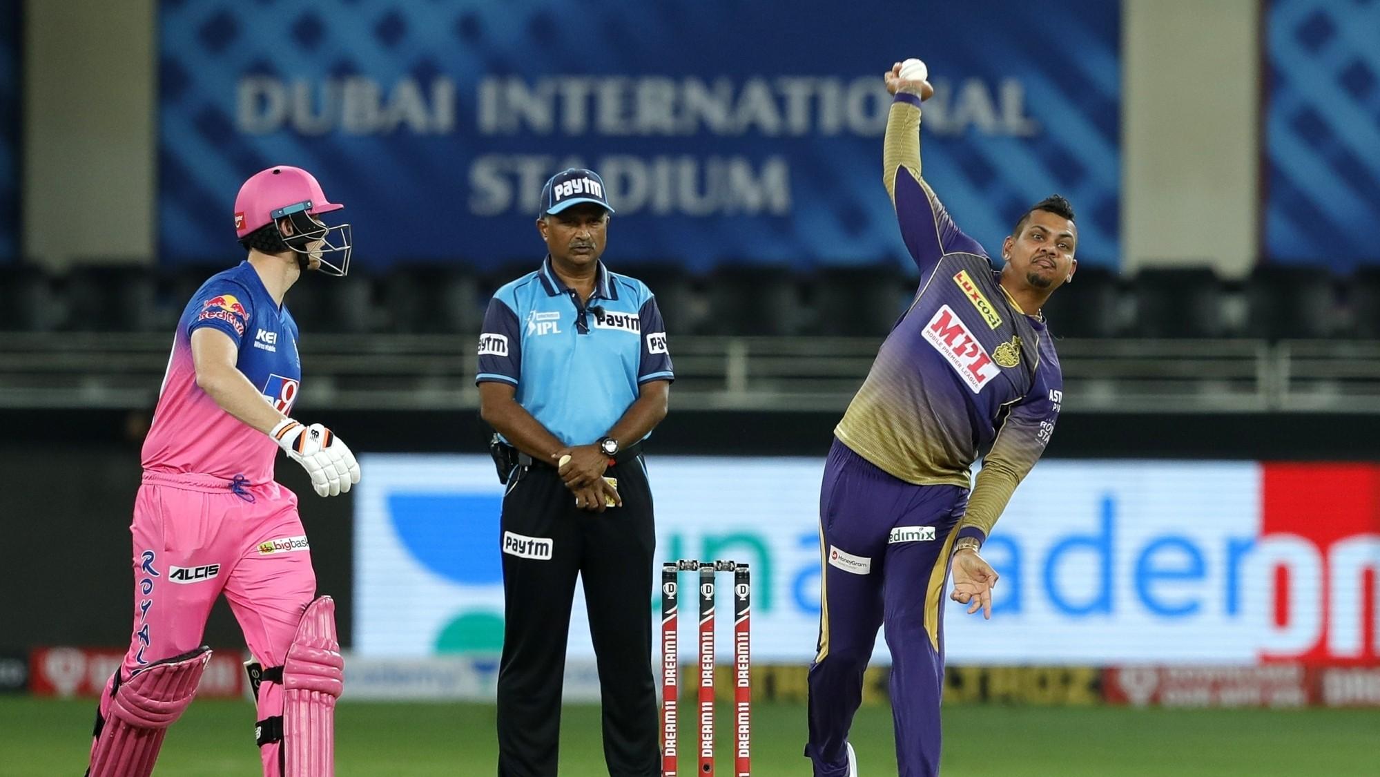 IPL 2020: KKR left surprised after Sunil Narine gets reported for suspect actionagain