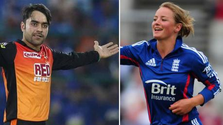 IPL 2018:  Danielle Wyatt sends her best wishes to Rashid  Khan ahead of the final