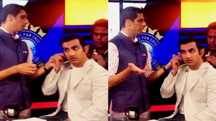 WATCH: Former India cricketer Ashish Nehra becomes stylist for Gautam Gambhir