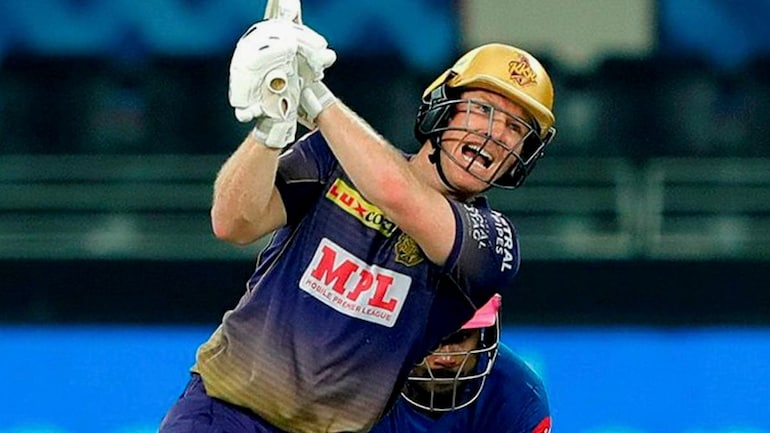 Eoin Morgan was the lone oversea player in Chopra's top five in KKR XI | PTI