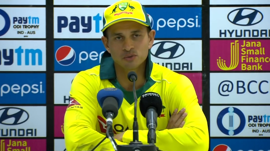 IND v AUS 2019: We want to rejoice this ODI series win and not look too far ahead, says Usman Khawaja