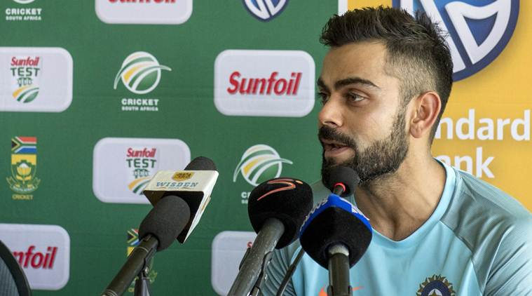 Kohli notched up his 34th ODI ton in Cape Town. (Getty)