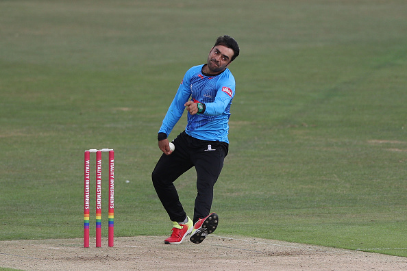 Rashid Khan returned to Sussex for the 2021 T20 Blast | Getty Images