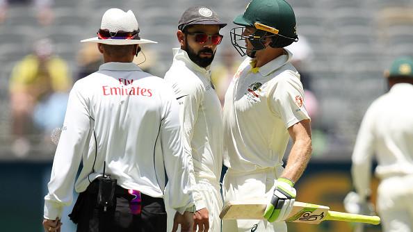 AUS v IND 2018-19: WATCH – Virat Kohli, Tim Paine continue verbal battle on Day 4, umpire warns both