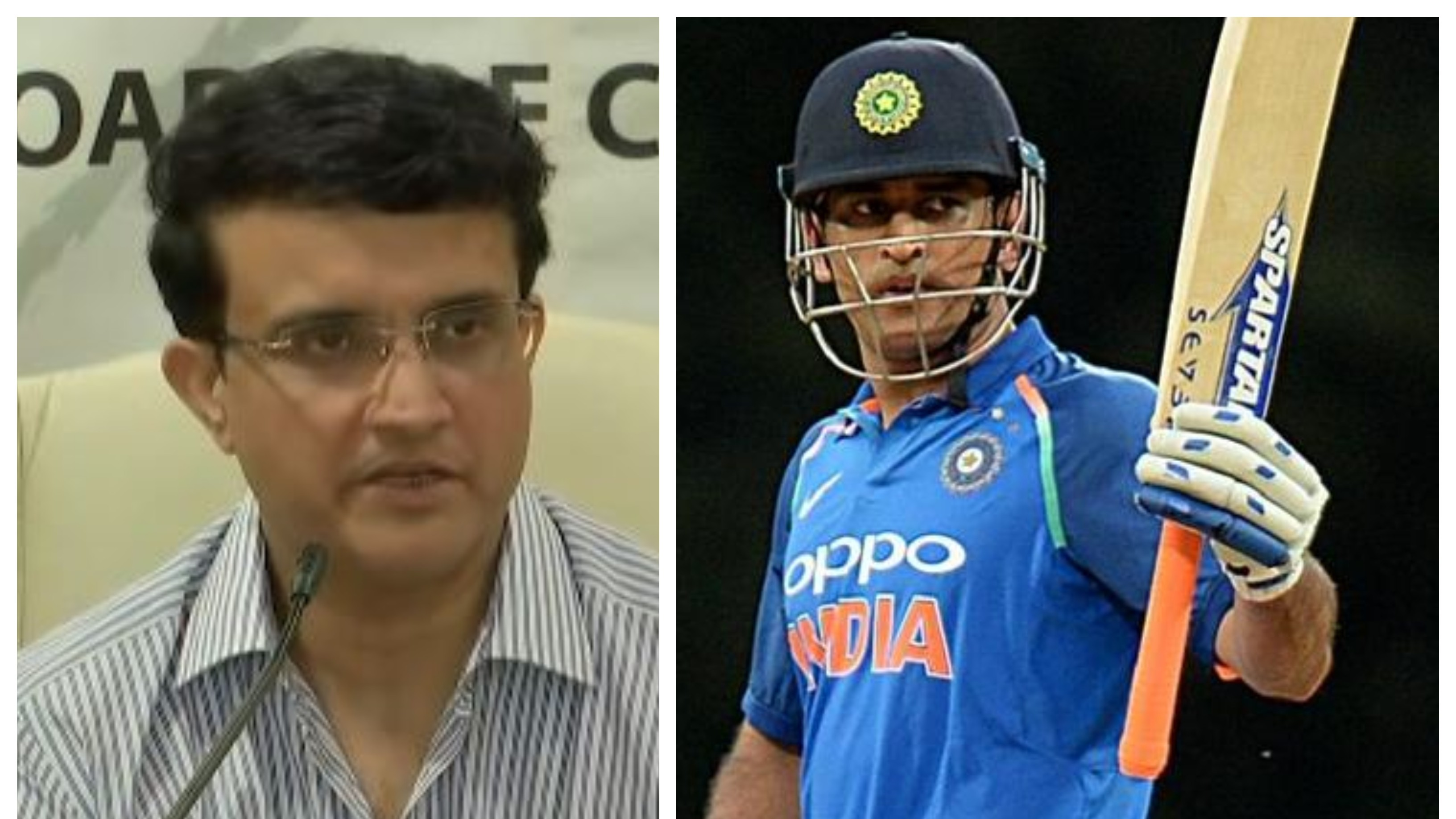 Can't thank MS Dhoni enough for his service to Indian cricket: BCCI chief Sourav Ganguly