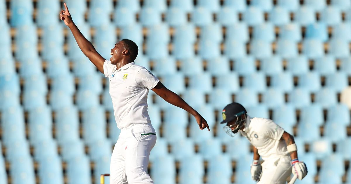 Kohli was dismissed by Ngidi for 5. (Scroll.In)