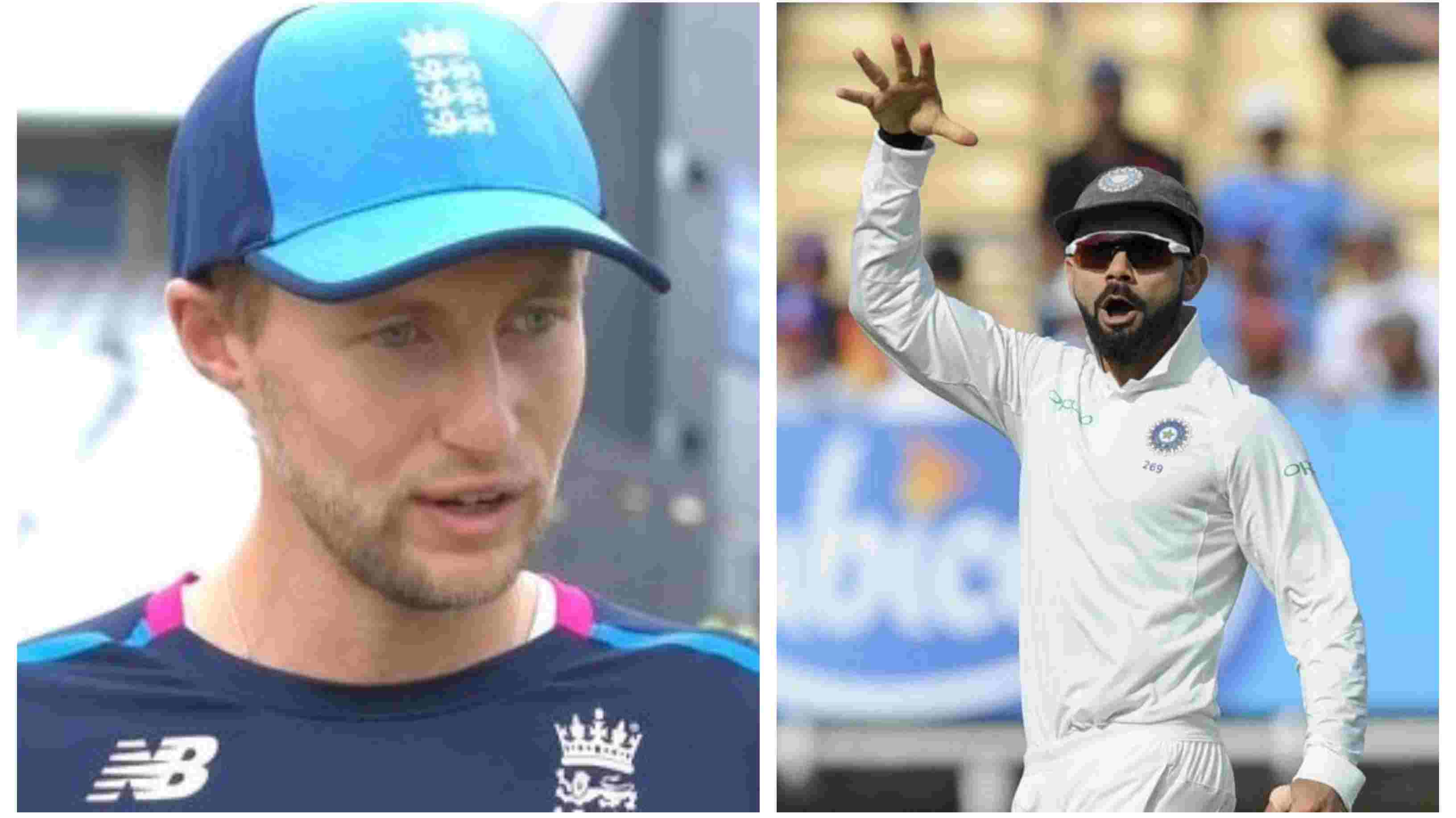 ENG v IND 2018: WATCH – Joe Root reacts to Virat Kohli's 'mic-drop' celebration