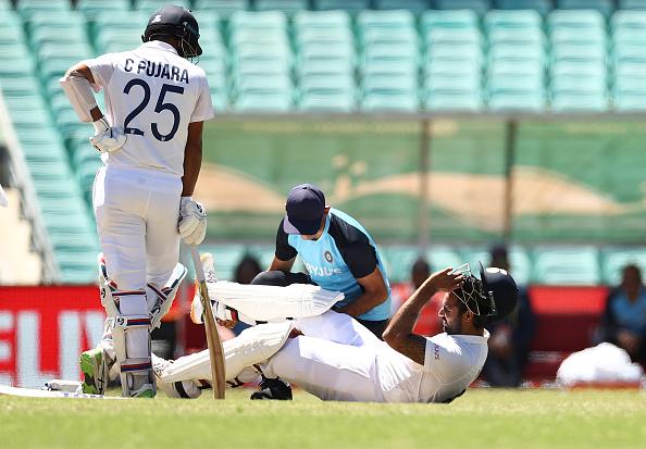 Hanuma Vihari batted through pain at SCG   Getty Images