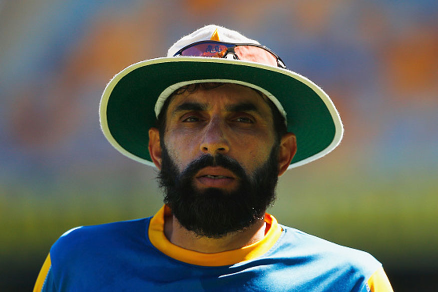 Misbah played 75 Tests for Pakistan | Getty