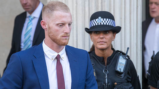 I was protecting gay couple in fight, Ben Stokes tells affray trial