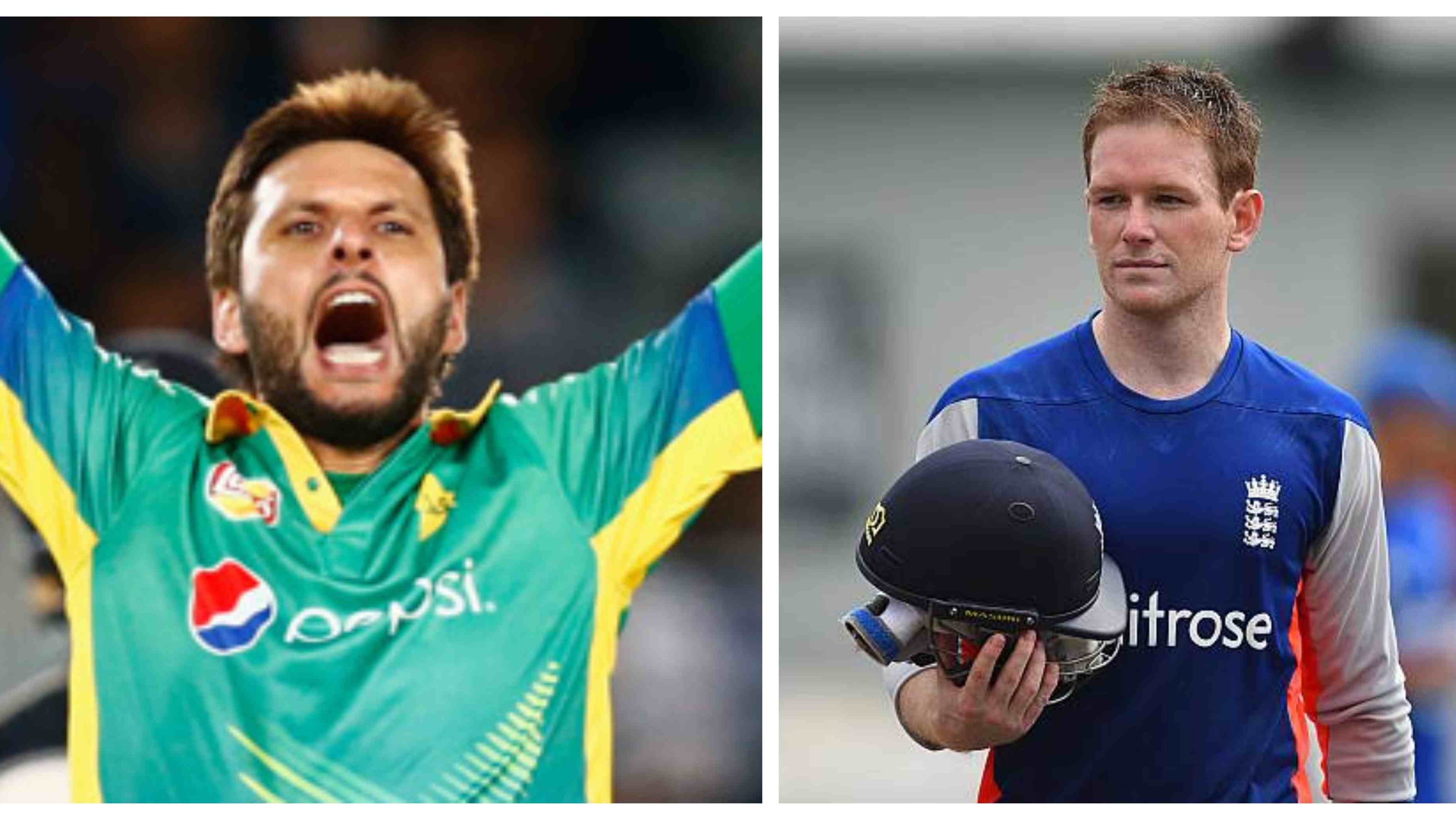 Shahid Afridi to lead ICC World XI after finger injury rules Eoin Morgan out of the squad