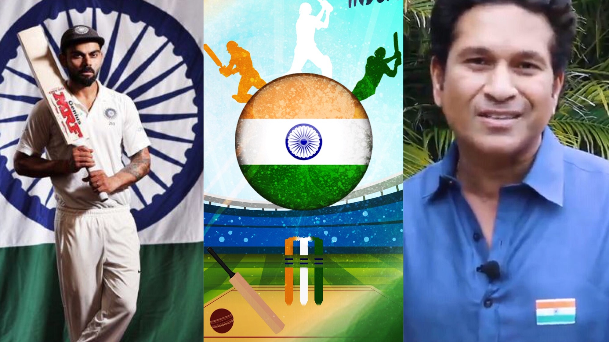 Indian cricket fraternity wishes the nation on 73rd Independence Day