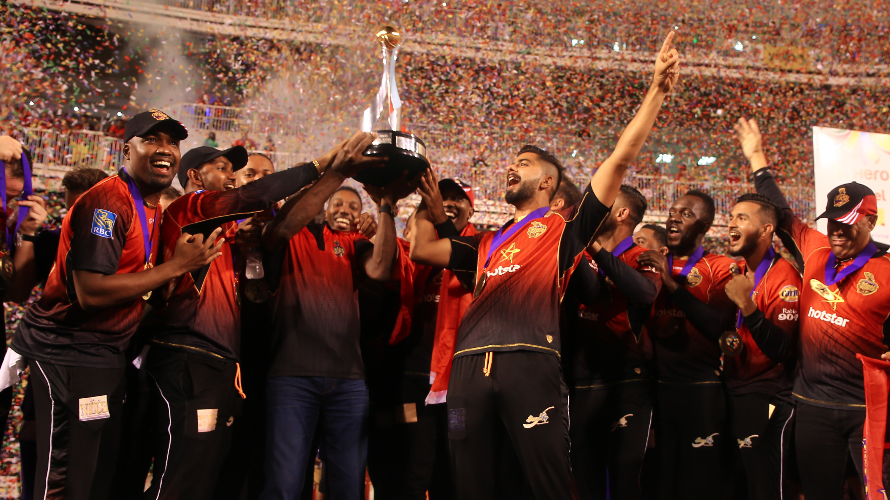 CPL 2018: Trinbago Knight Riders win their third title, with Pierre and Munro excelling on the big night