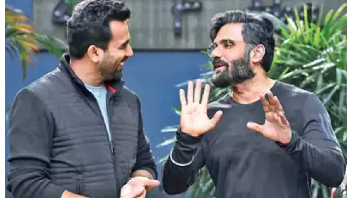 क्या जहीर खान बॉलीवुड अभिनेता सुनील शेट्टी के साथ बॉलीवुड में डेब्यू करने जा रहे है?