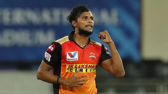 IPL 2021: T Natarajan of Sunrisers Hyderabad (SRH) ruled out of IPL 14 with a knee injury, as per reports