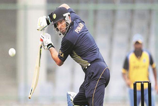 Yuvraj Singh played in the Vijay Hazare Trophy for Punjab   PTI
