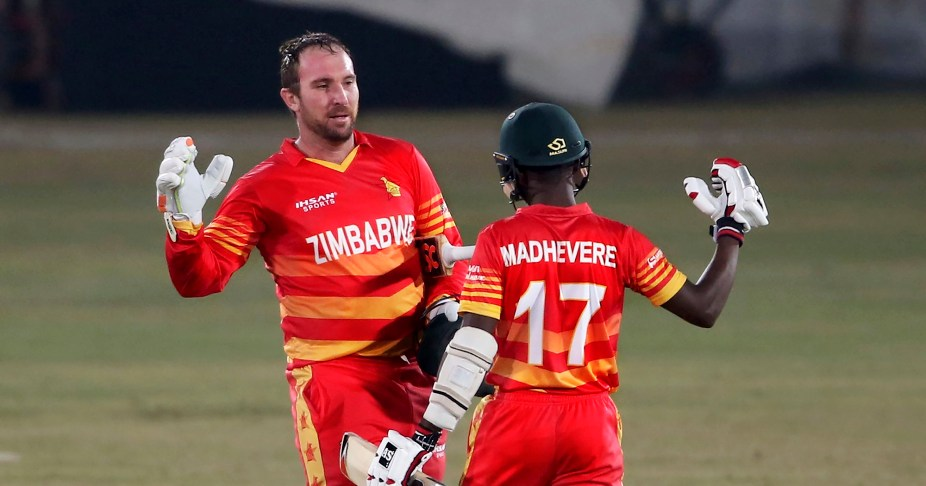 Brendan Taylor scored 204 runs in 3 match ODI series against Pakistan in Rawalpindi. (Photo - AP Photo)