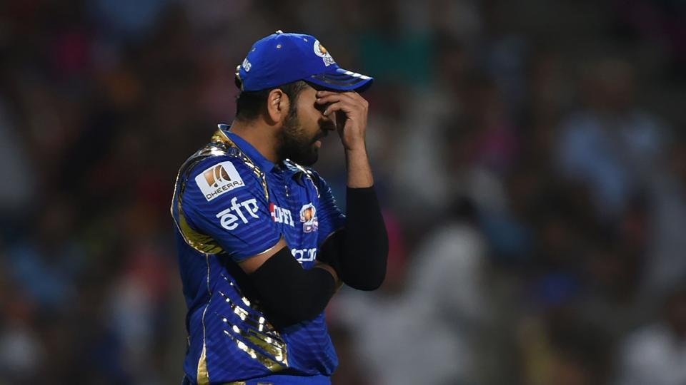 IPL 2018: रोहित शर्मा को मिली ऐसी सज़ा के मुँह छुपाने की आयी नौबत