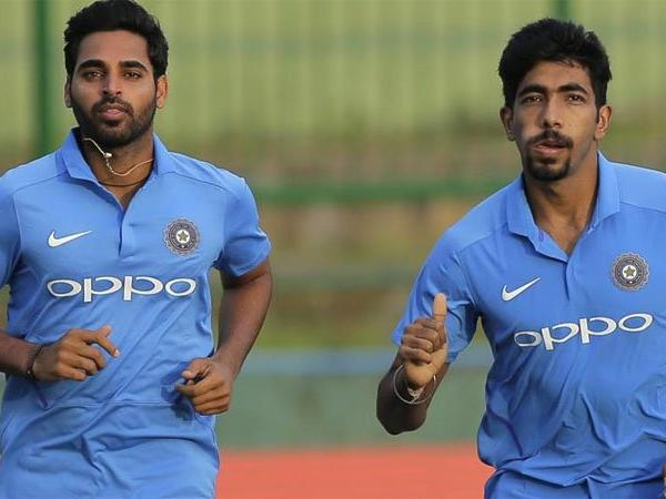 Bhuvneshwar Kumar and Jasprit Bumrah are two of the best death overs bowlers in T20 cricket | AP