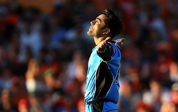 Rashid Khan set to play in England's T20 league after successful BBL campaign