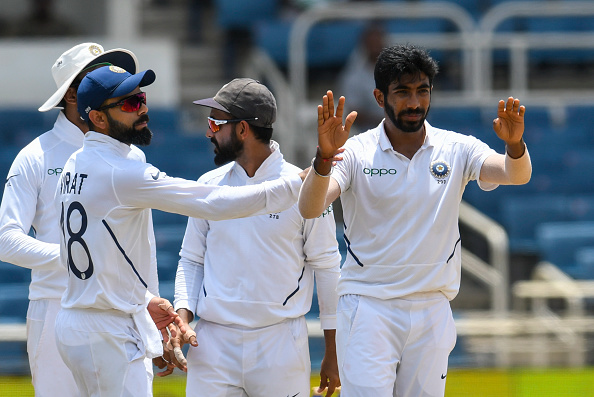 Virat Kohli is the no.2 ranked Test batsman, while Jasprit Bumrah is the third ranked bowler in the rankings | Getty