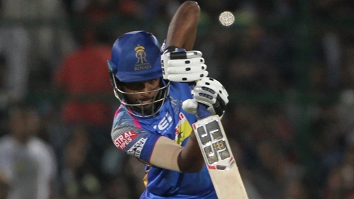 IPL 2018: Twitter in shock as Sanju Samson hits 10 sixes in his 92* to propel RR to 217