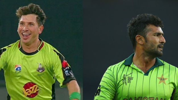Watch – Yasir Shah and Sohail Khan get into bizarre confrontation during PSL match