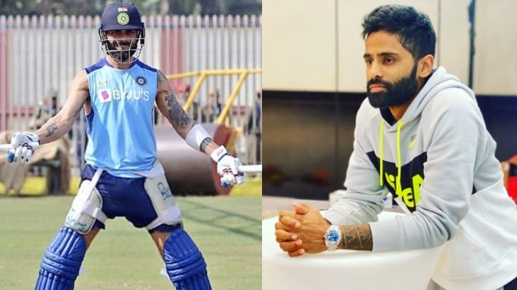 AUS v IND 2020-21: Suryakumar Yadav eager to watch Virat Kohli dominate in Australia