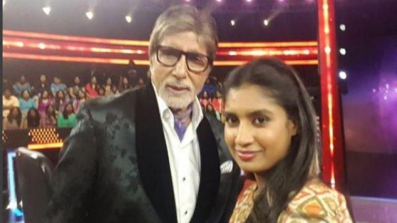 अमिताभ बच्चन ने इस भारतीय महिला क्रिकेटर को बताया विनम्र और प्रतिष्ठित इंसान