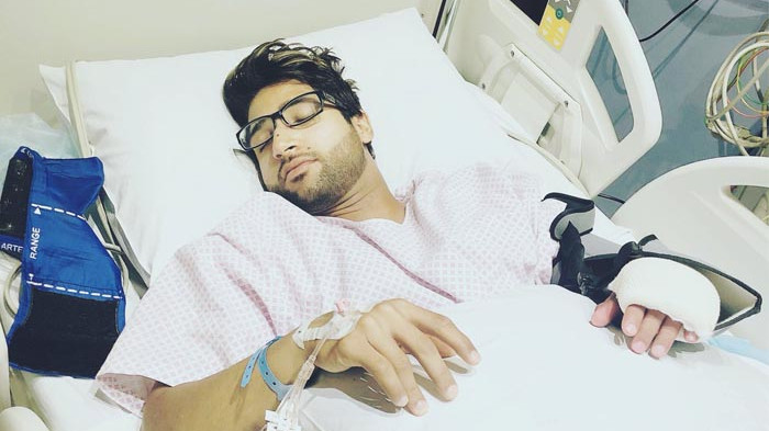 Imam-ul-Haq posts picture after surgery, gets brutally roasted by fans