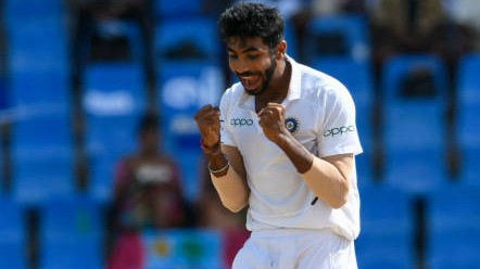 WI v IND 2019: Stats - Jasprit Bumrah becomes the fastest Indian pacer to 50 Test wickets