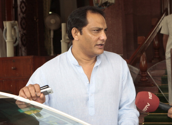Mohammad Azharuddin attends Parliament | Getty