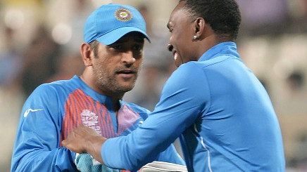 Dwayne Bravo believes it's on MS Dhoni to decide when to quit T20I cricket