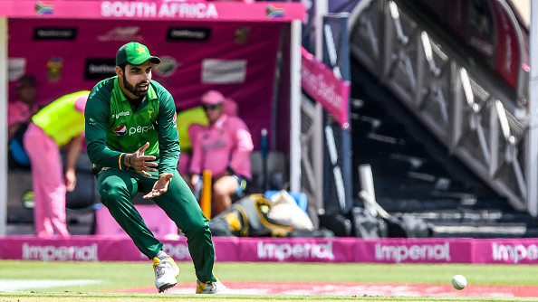 Toe injury rules Shadab Khan out of South Africa and Zimbabwe tours