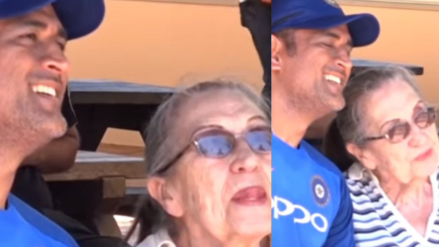 AUS v IND 2018-19: WATCH- MS Dhoni meets his 87-year-old fan after practice