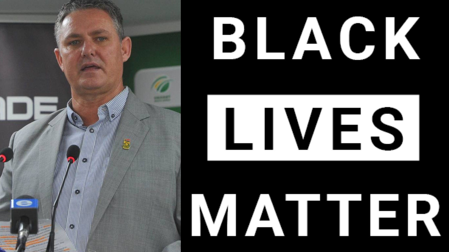 Cricket South Africa shows solidarity with Black Lives Matter movement, confirms CEO Jacques Faul