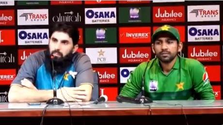 Speculations of rift between Pakistan coach Misbah Ul Haq and skipper Sarfaraz Ahmed