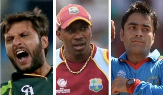 Shahid Afridi, Dwayne Bravo and Rashid Khan - The three all-rounders in the team