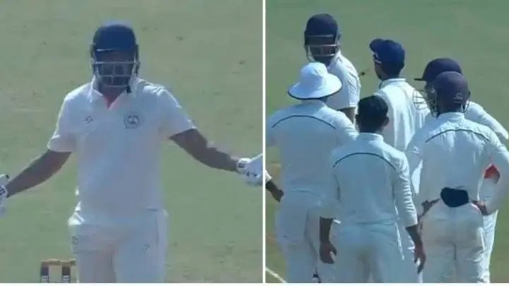 Ranji Trophy 2019-20: WATCH - Yusuf Pathan refuses to leave his crease after being given out wrongly